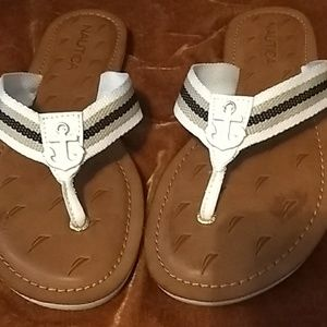 Nautica sandals, very well made. Barely worn. Sz 9